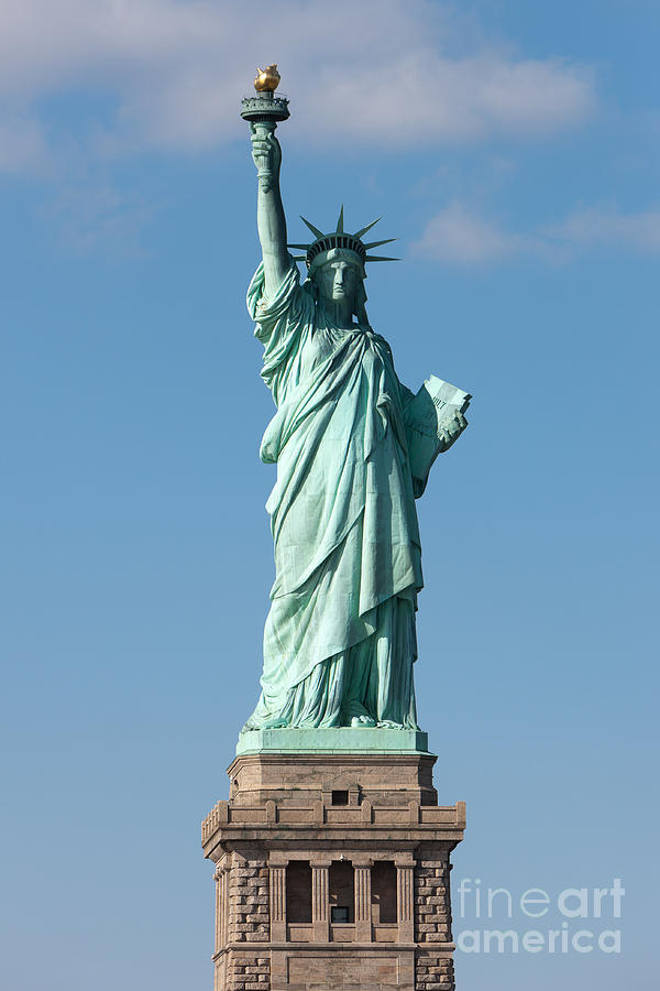 America Photograph - Statue Of Liberty Iv by Clarence Holmes