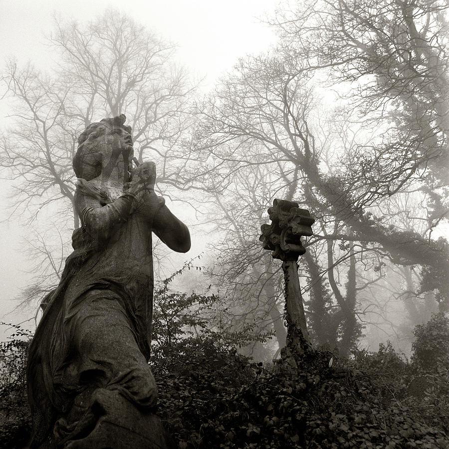 Square Photograph - Statue by Robert Dalton