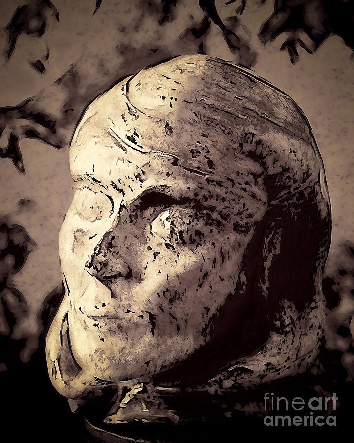 Aj Hansen Photograph - Statuesque  by Arne Hansen