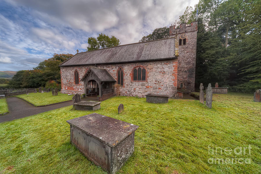 British Photograph - St.dyfnogs Church by Adrian Evans