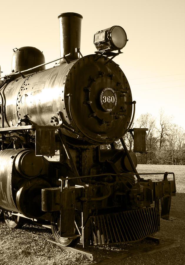 Antique Photograph - Steam Power by Ricky Barnard