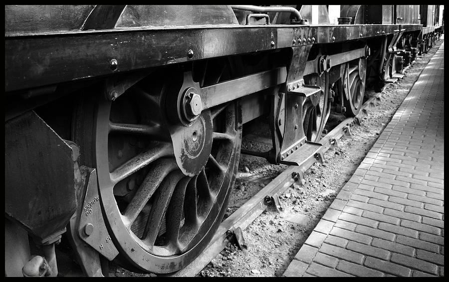 Wheels Photograph - Steam Preserved by Jacqui Collett