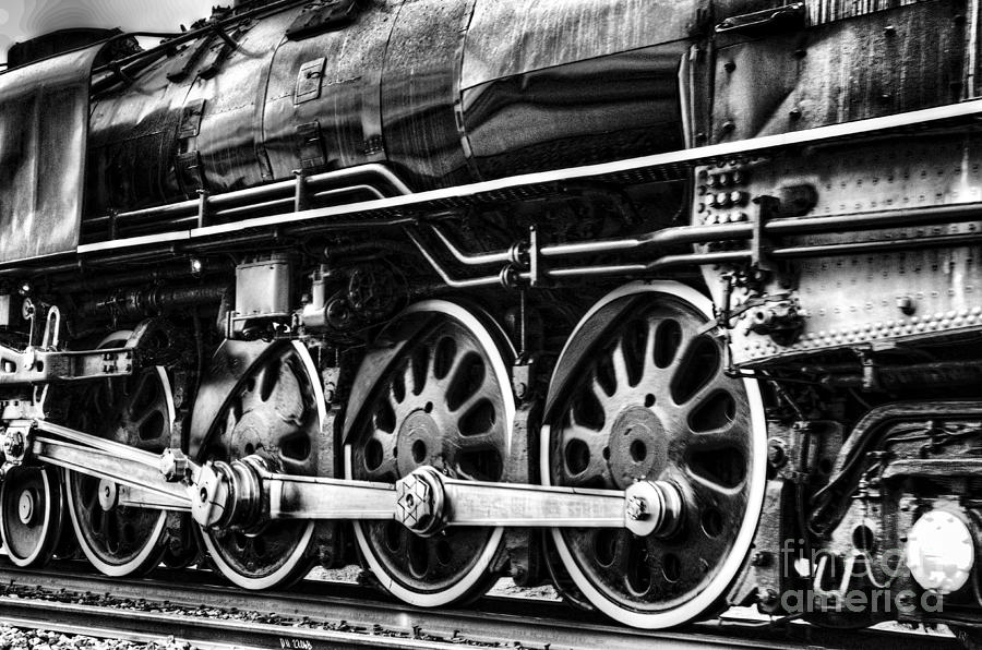 Fine Art Photograph - Steam Train No 844 - IIi by Donna Greene