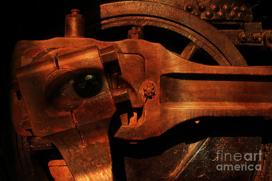 Steampunk Photograph - Steampunk Part Number 93063 Ghost In The Machine by Wingsdomain Art and Photography