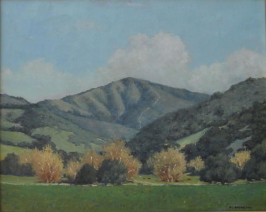 California Landscape Painting - Steinbeck Country by Marv Anderson