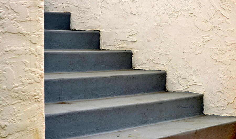 Steps Photograph - Steps by Rima Biswas
