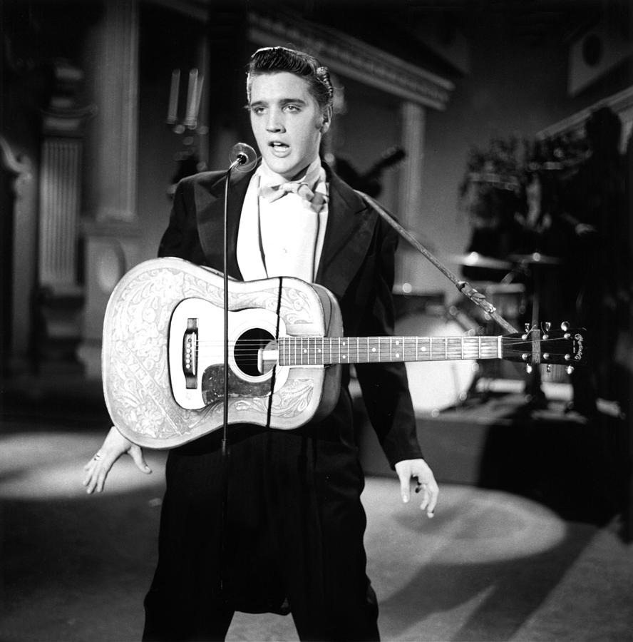 Classic Tv Photograph - Steve Allen Show, 1956-61, Elvis by Everett