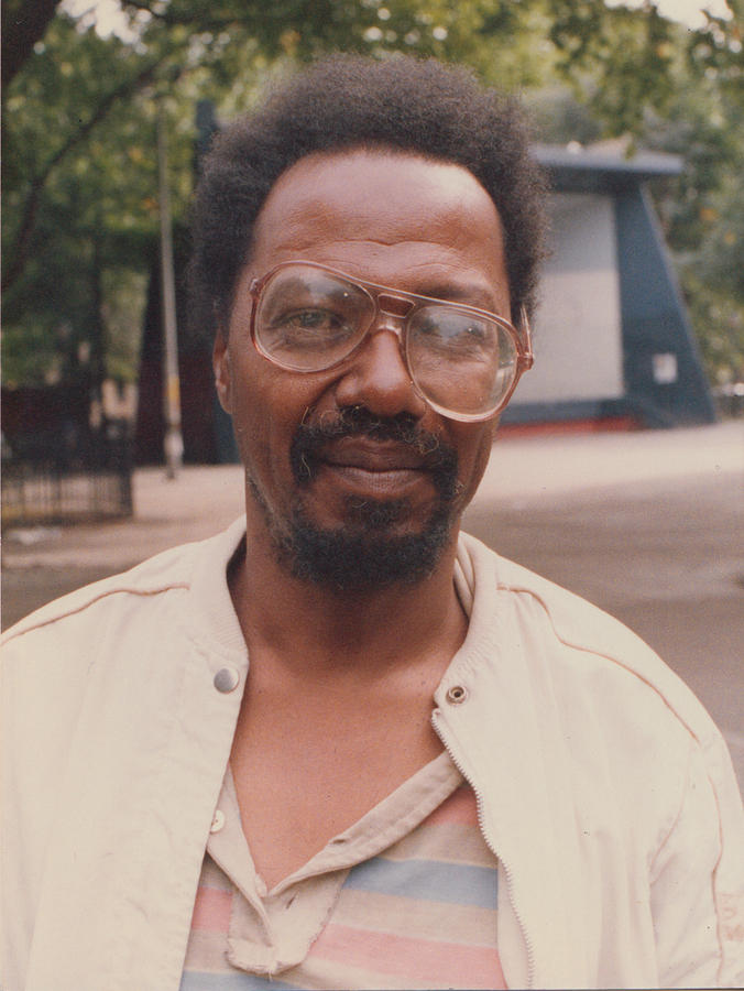 Lower East Side Photograph - Steve With Glasses by Clayton Patterson