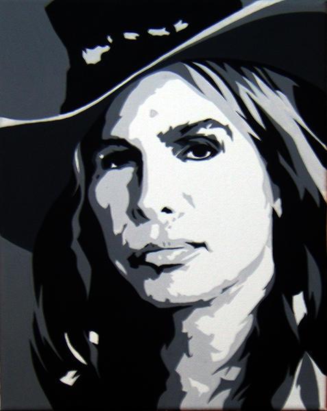 Steven Tyler Painting - Steven Tlyer by Michael James  Toomy