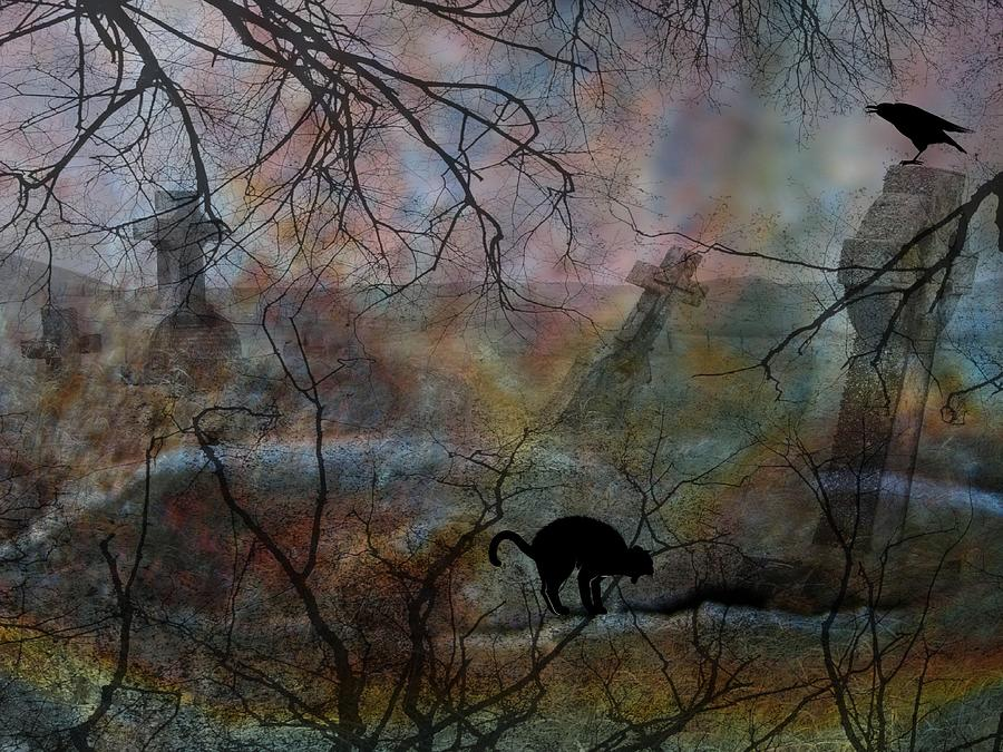 Halloween Photograph - Still In There by Shirley Sirois