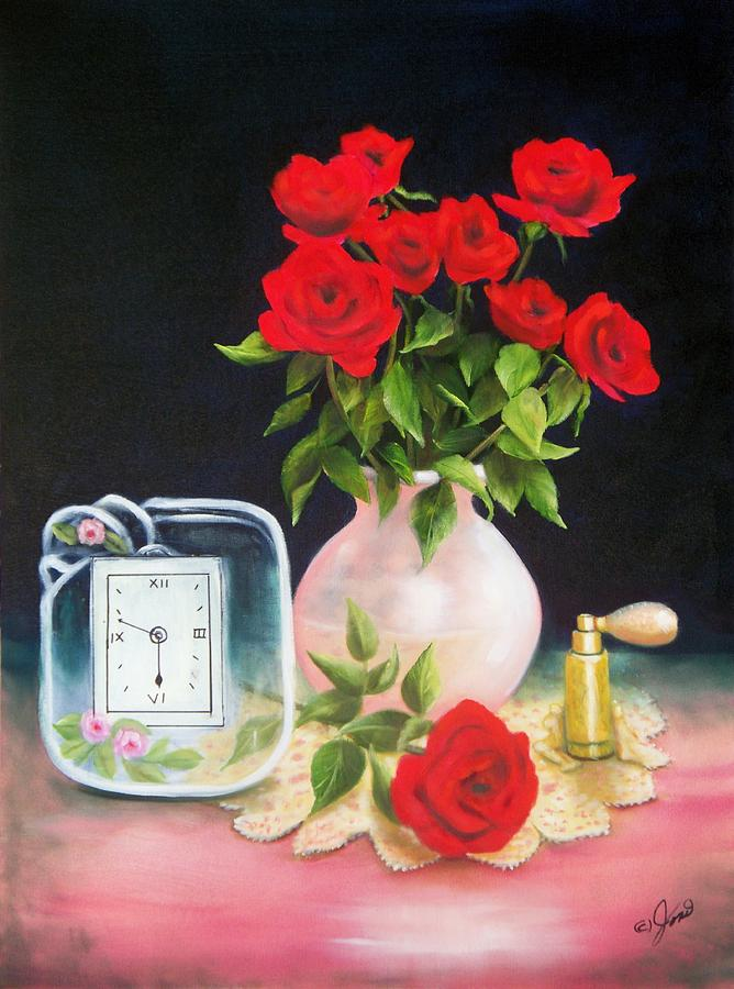 Floral Painting - Still Life 6 by Joni McPherson