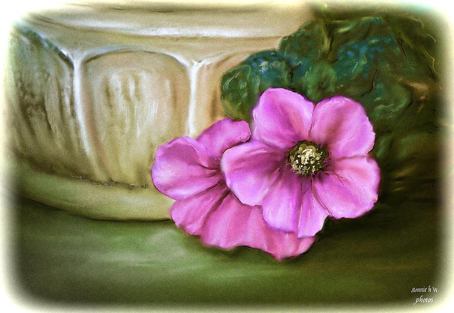 Floral Photograph - Still Life by Bonnie Willis