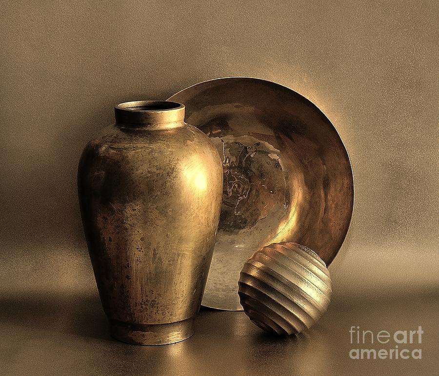 Still Life In Gold by Mark Fuller