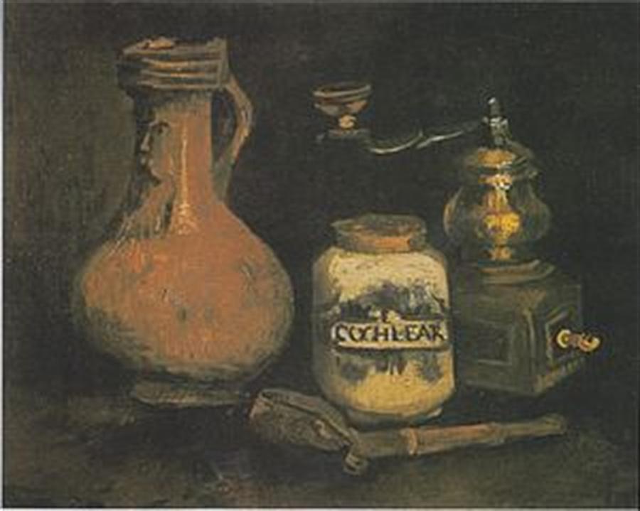 Drawings Digital Art - Still Life Paintings By Vincent Van Gogh by Van Gogh