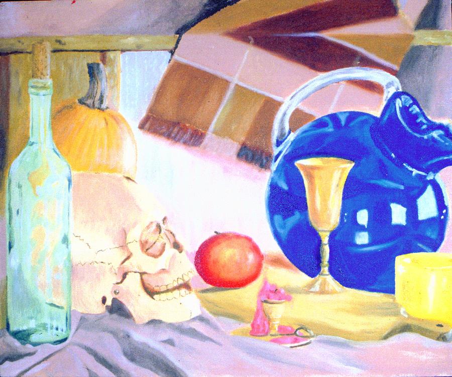Still Life Painting - Still Life by Robert Fenwick May Jr