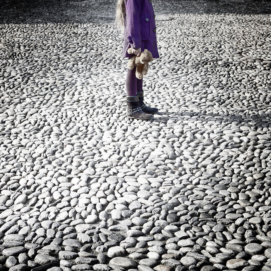 Girl Photograph - Still Standing by Joana Kruse
