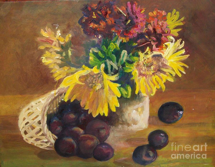 Stilllife Painting - Stilllife by Lyn Vic