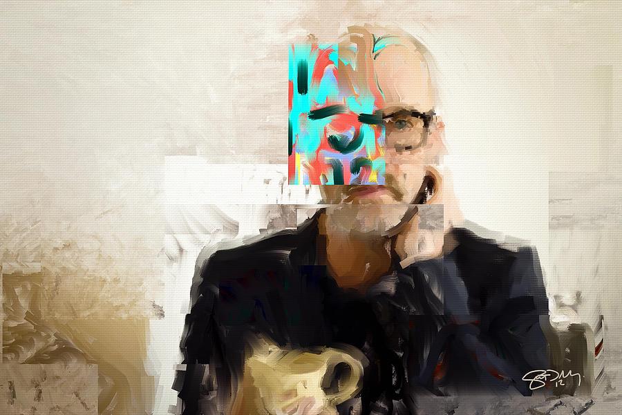 Michael Stipe Painting - Stipe by Scott Melby