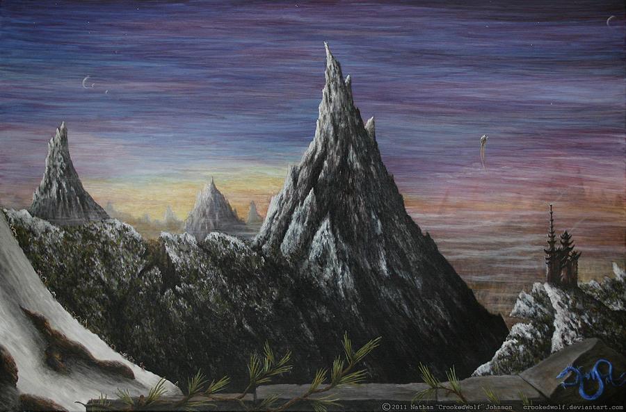Stoic Trinity Mixed Media by Nathan Johnson