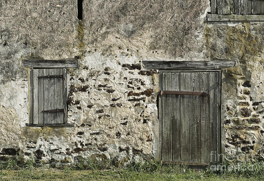 Architecture Photograph - Stone Barn by John Greim