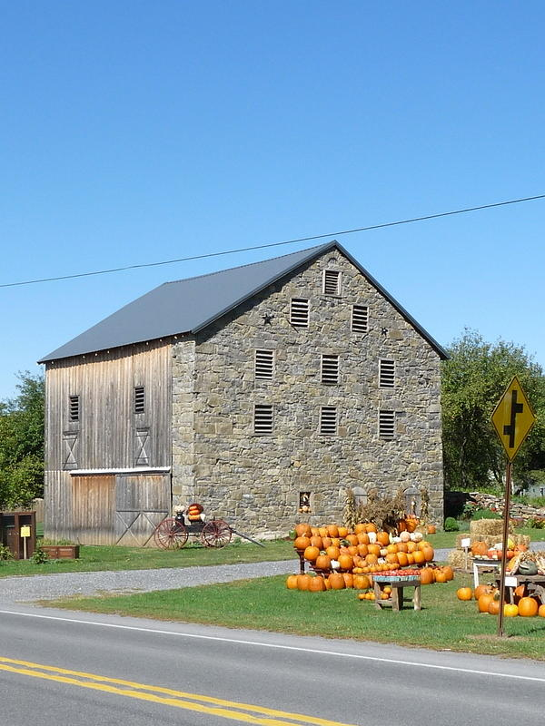 Architecture Photograph - Stone Barn by John Turner