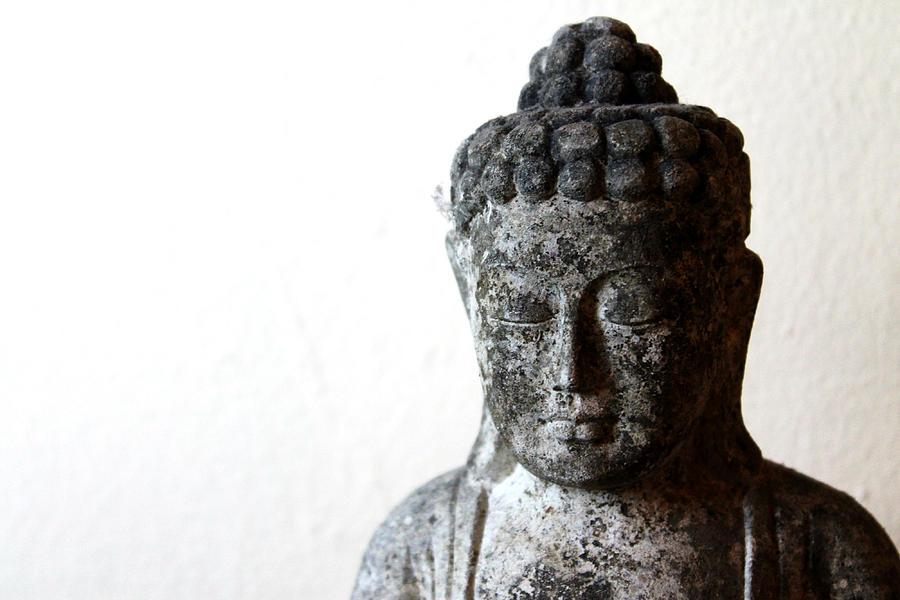 Buddha Sculpture - Stone Buddha by Janita Topan