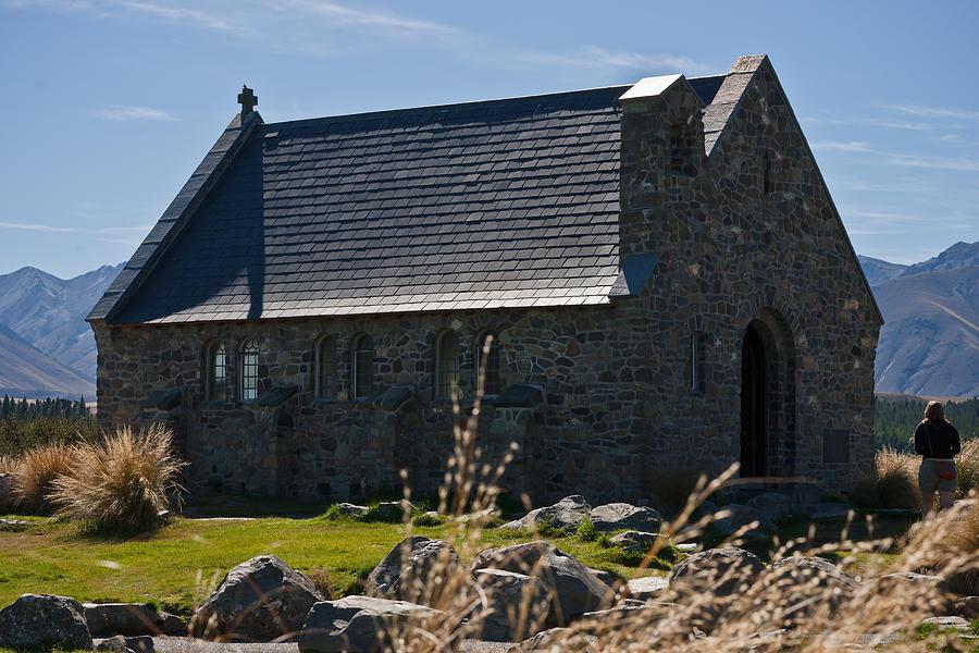 Church Photograph - Stone Church by Graeme Knox