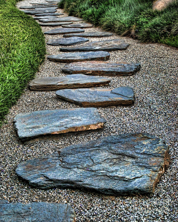 Stone Walkway Photograph by Norma Warden