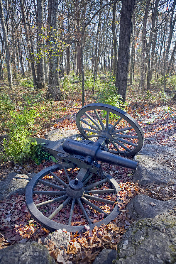 Usa Photograph - Stones River Battlefield by Luc Novovitch