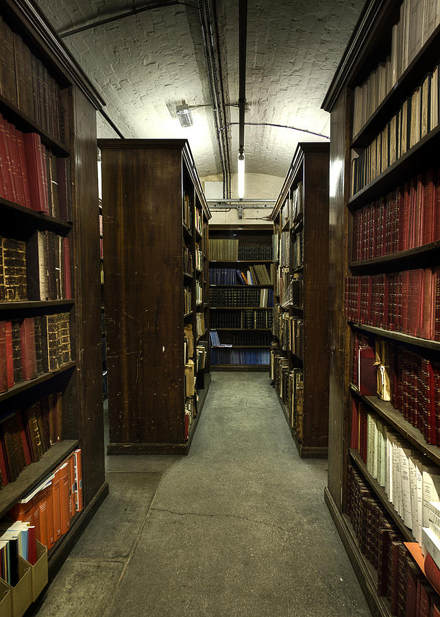 Library Photograph - Storage by Dave Wood