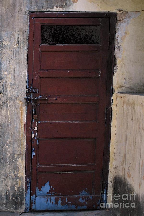 Stock Room Doors : Store room door photograph by denis shah