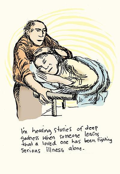 Hearing Drawing - Stories Of Deep Sadness by Erella Ganon