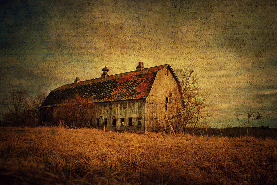 Barn Photograph - Stories Of Old by Emily Stauring