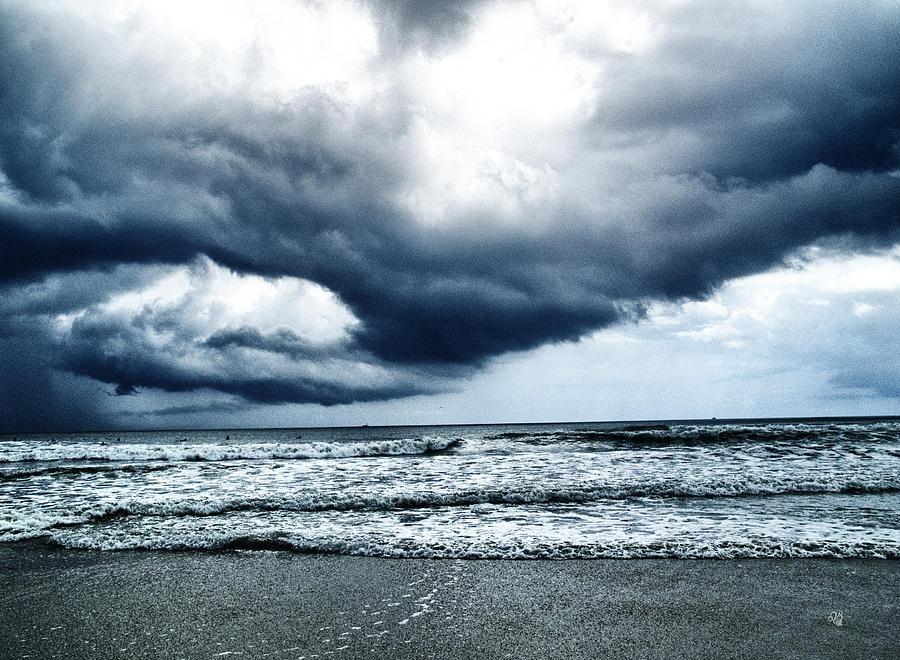 Beach Photograph - Storm At Sea by Barbara Middleton