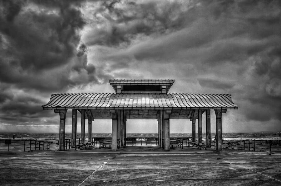 Brighton Photograph - Storm Before The Calm by Evelina Kremsdorf