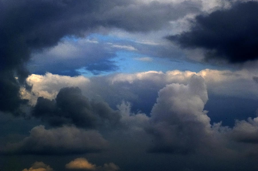 Sky Photograph - Storm Brewing by Frank Blakely