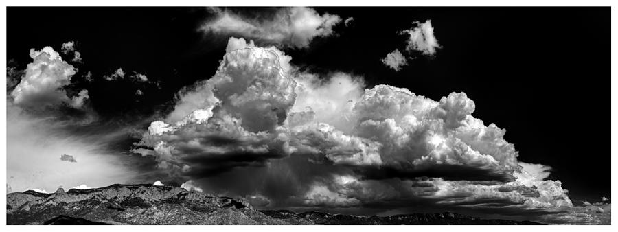 Storm Photograph - Storm Clouds And Sandias - Outside Albuquerque by Luke Parsons