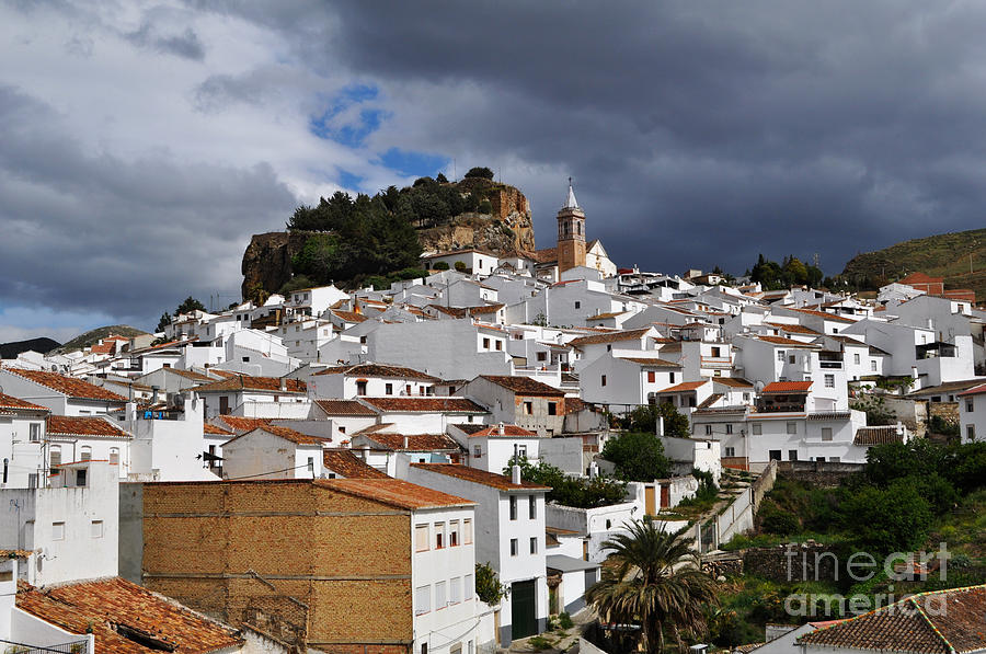 Spain Photograph - Storm Clouds Over Ardales Spain by Mary Machare