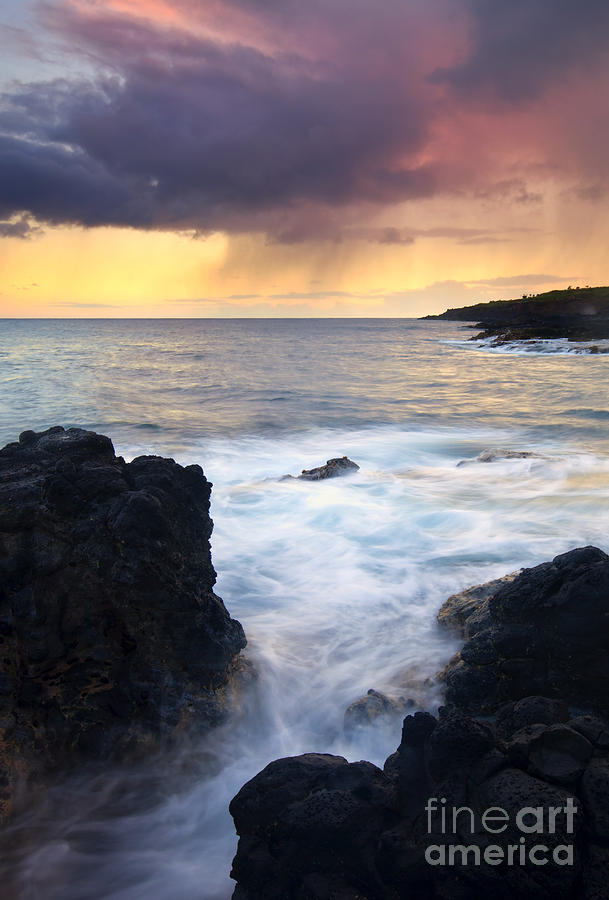 Fissure Photograph - Storm Fissure by Mike  Dawson