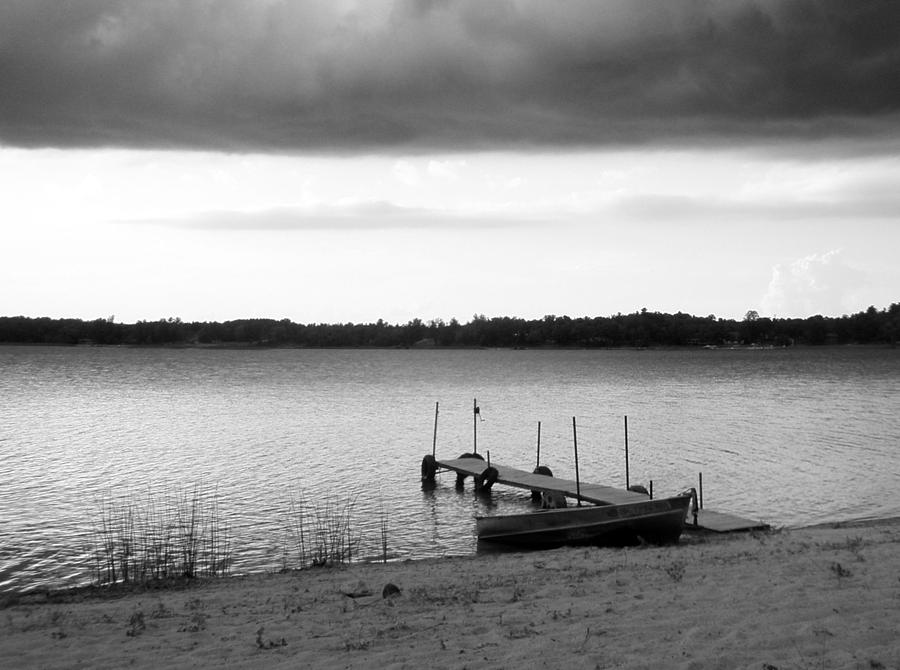 Lake Photograph - Storm Front by Bridget Johnson