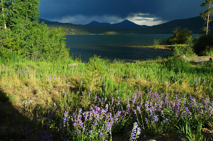 Storm Photograph - Storm In Dillon by Lynn Bauer