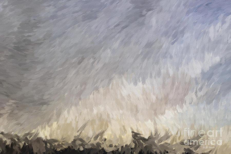 Storm Digital Art - Storm In Life by Deborah Benoit