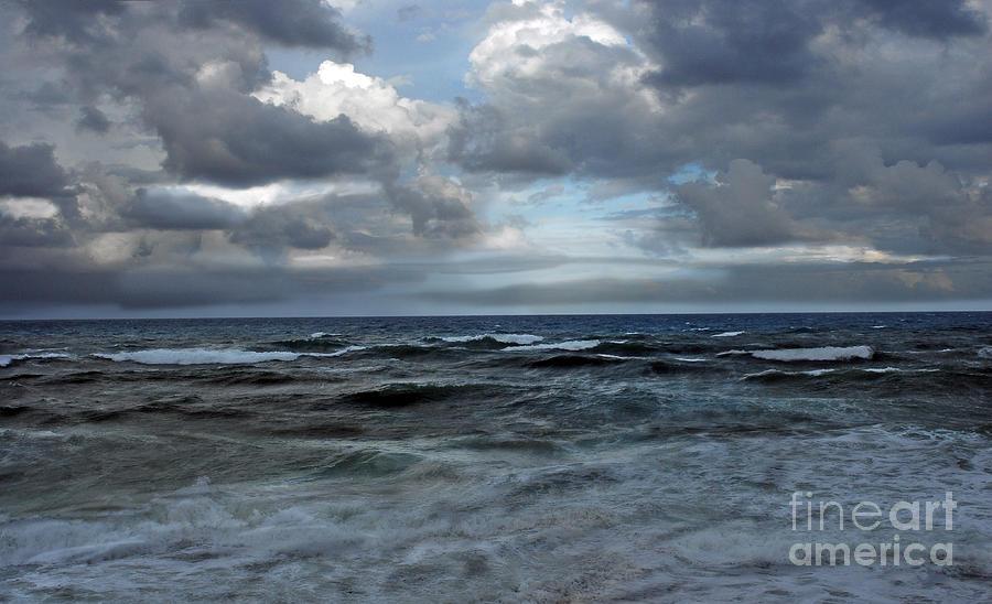 Ocean Photograph - Storm Off Coral Cove Beach by Richard Nickson