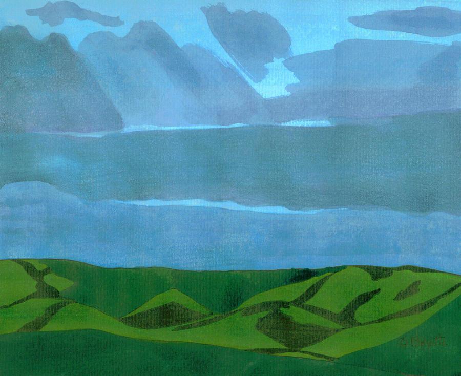 Storm on the Ridge  by Robert Boyette
