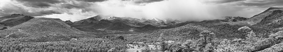 Rocky Mountain National Park Photograph - Storm On The Rockies by G Wigler