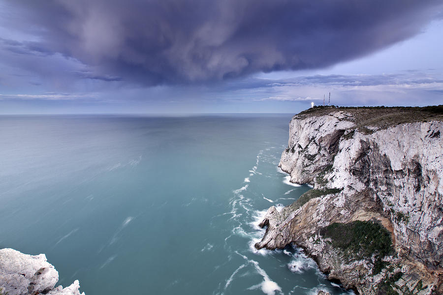 Horizontal Photograph - Storm Over Sea by Paco Costa
