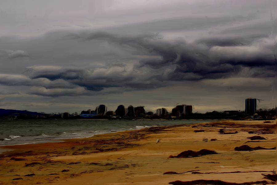 Storm Photograph - Storm Rolls In by Heidi Smith