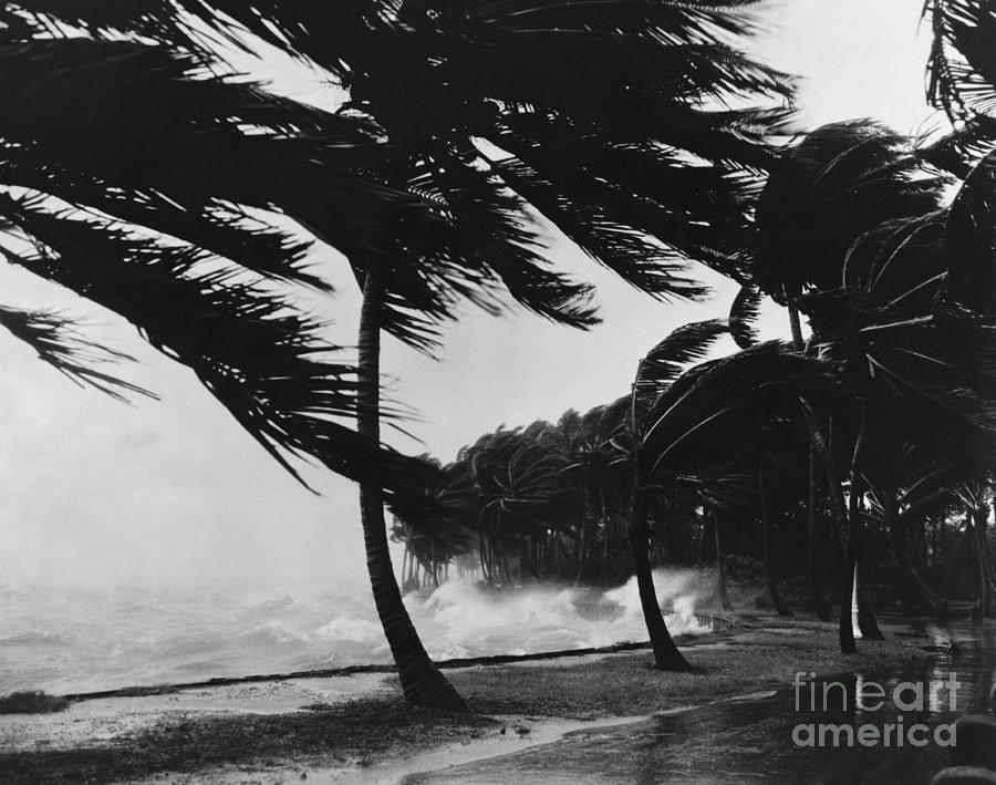 Weather Photograph - Storm Surge by Omikron