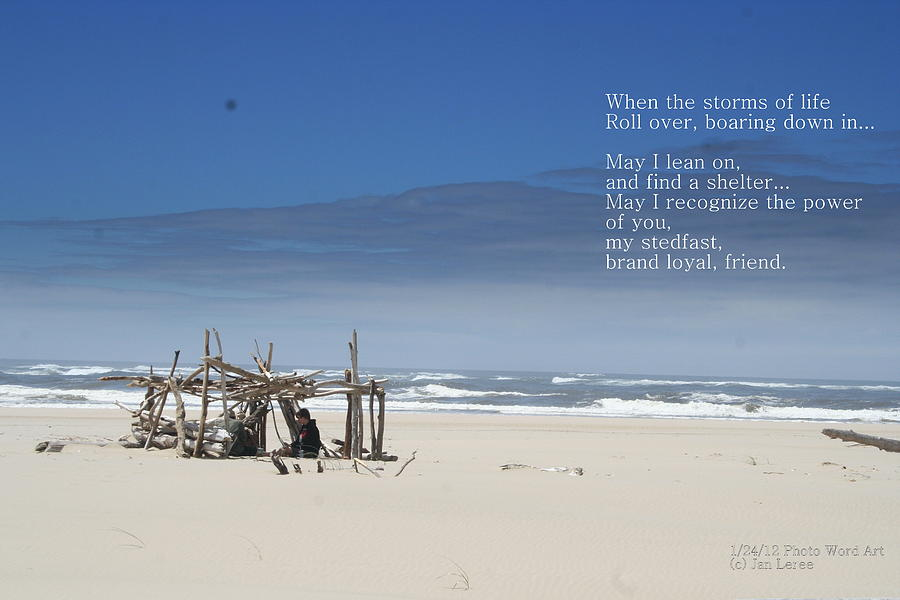 Beach Photograph - Storms Of Life by Jan Whidden