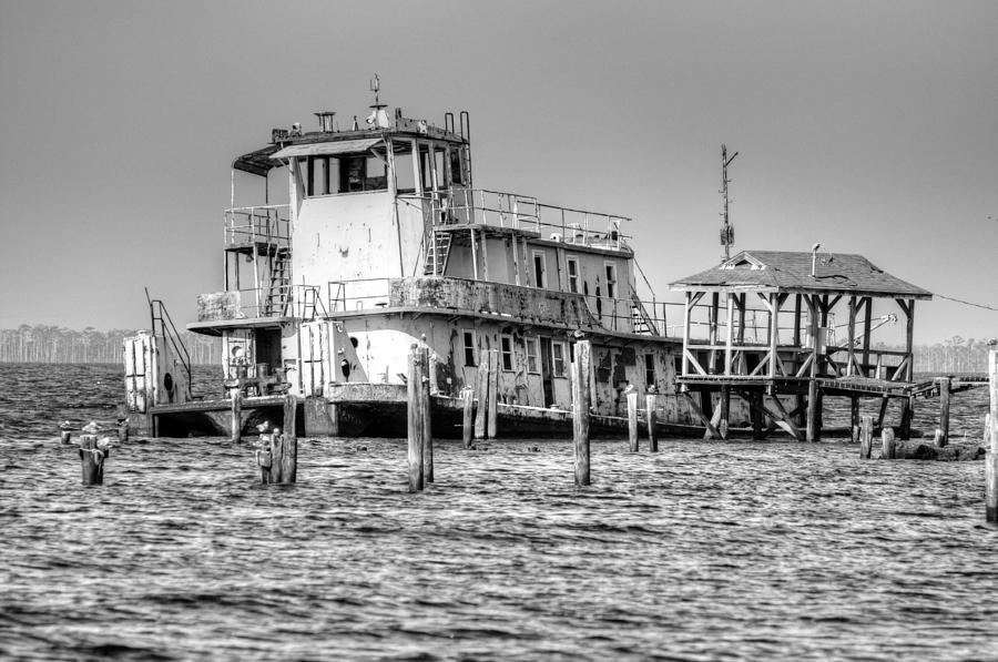 Boat Digital Art - Stormy by Barry R Jones Jr